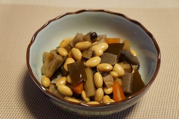 大豆の五目煮