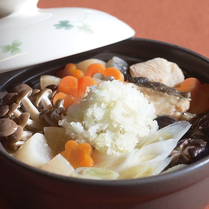 【美ごはん】生姜であったか 鱈の和風おろし鍋