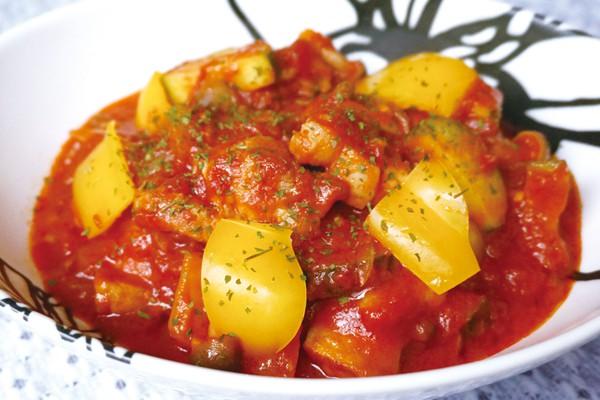 夏野菜のカチャトーラ