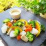 華やかで美味しい温野菜のバーニャカウダ