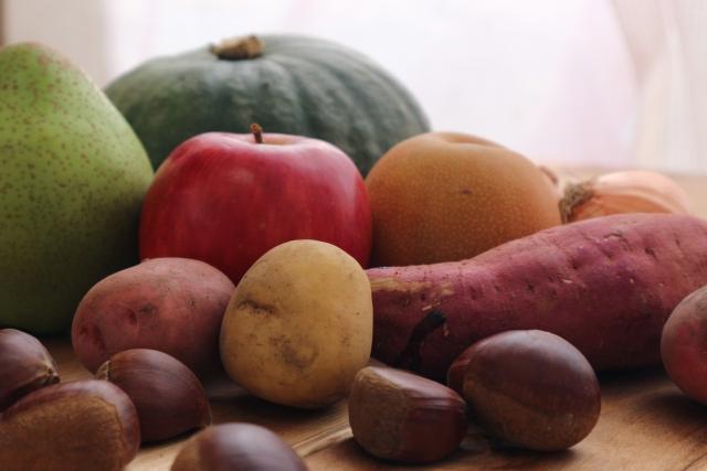 太りやすい秋の味覚