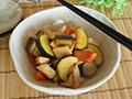 【8月号】鶏肉と夏野菜のバター醤油