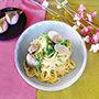 【3月号】ココナッツオイルでダイエット!はまぐりのうま味が広がる豆乳クリーミーパスタ