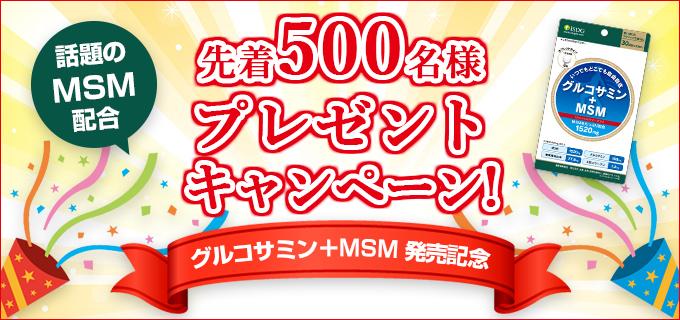 【無料サンプル】グルコサミン+MSM