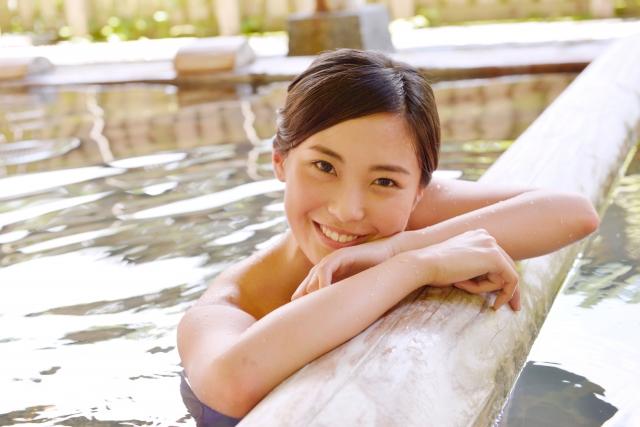 入浴で冷え予防