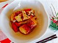 【1月号】柔らか角煮風!肉 巻き 豆腐