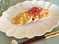 【6月号】長芋のソテー アボカドソース添え