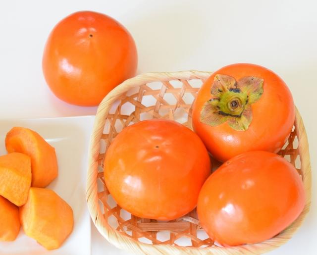 栄養満点の柿