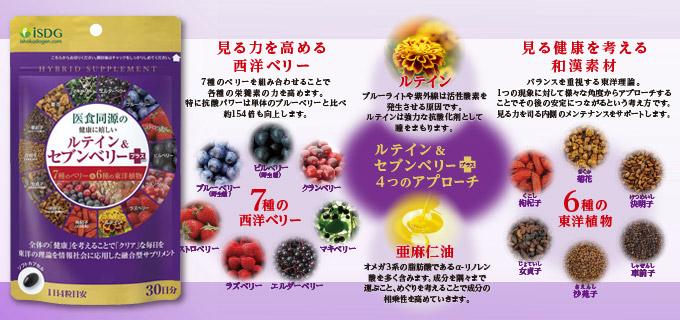 ルテイン&セブンベリープラス(30日分)