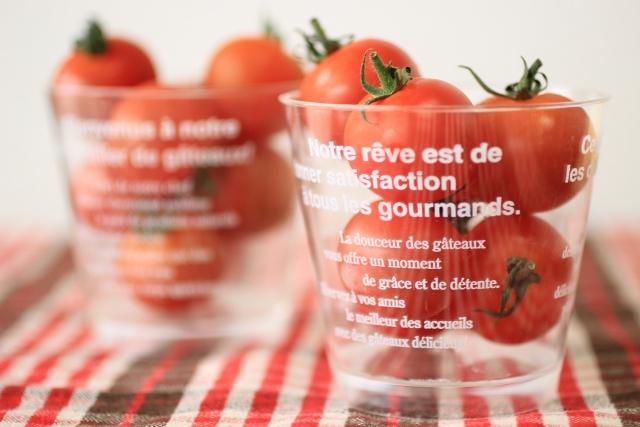 おやつにミニトマト