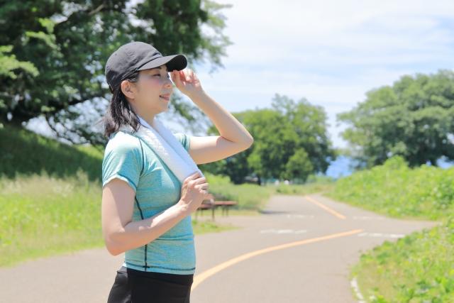 夏の運動時の注意点