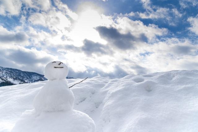 冬の日光浴