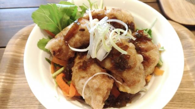 大豆ミートの料理